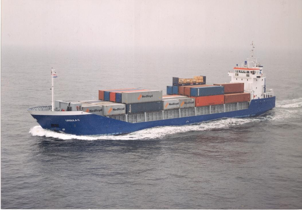 "NB 306 MV ""Ursula C"" for Montana Shipping in Hamburg (D)"
